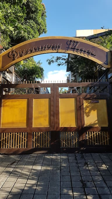 Building compound Entrance Gate