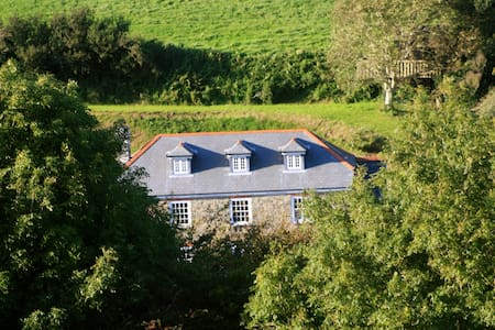 Farmhouse B&B Rooms in Horsecombe Valley - Salcombe - Bed & Breakfast