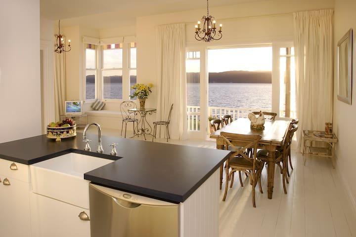 Kitchen to view