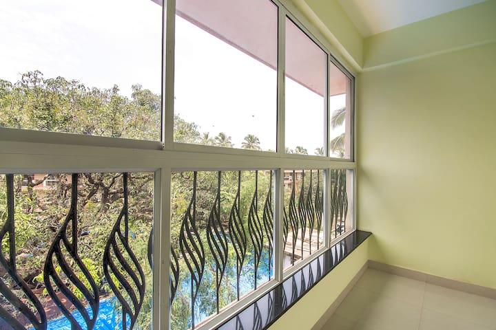 Charming studio apartment, near Baga Beach/73806
