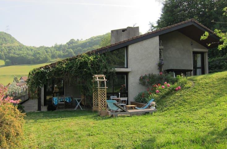 Maison moderne  proche montagne (semaine)