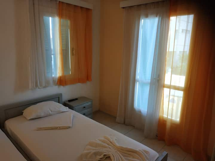 Studio 70meters from the beach and the towncenter.