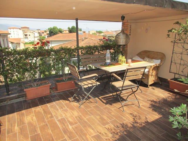Appartamento in centro con terrazza