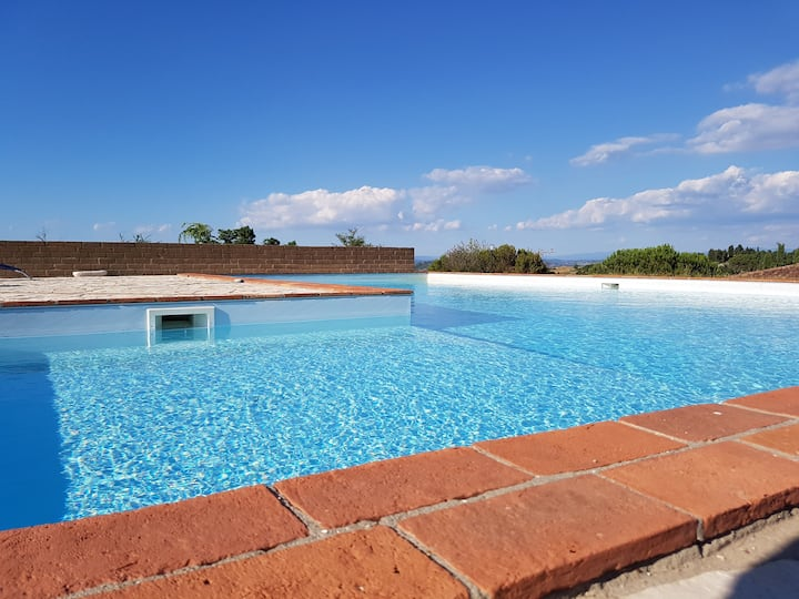 Ilaria-Appartamento con piscina