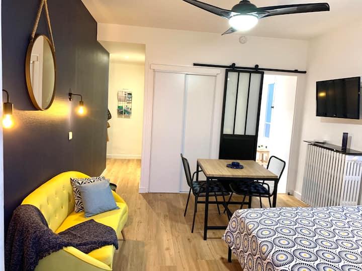 Studio avec balcon et parking à Aix-les-Bains