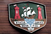 Statio Bene Fida Carinis: the arms of Cork - a safe place for ships and Airbnb guests . . .