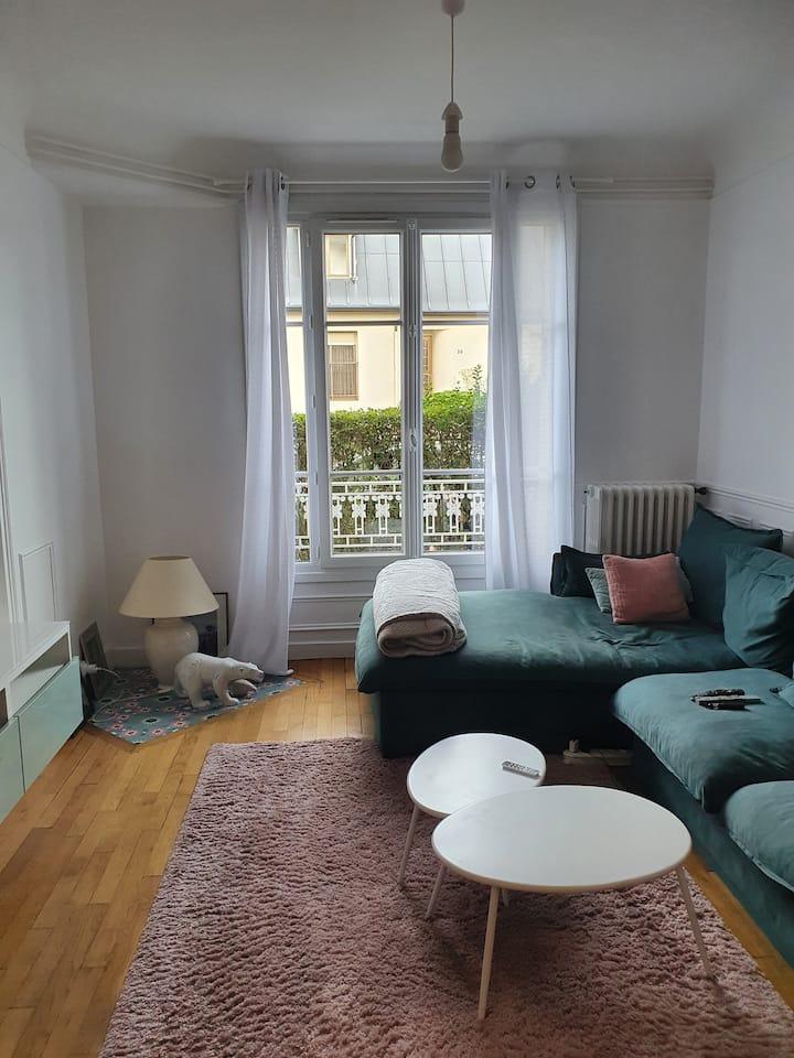 appartement entier cosy et bien placé