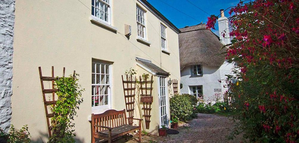 Ellenor Cottage. A Cosy Retreat Close to The Beach - Malborough - Haus