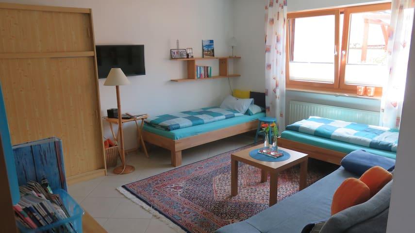 Wohlfühlort: Ruhige Wohnung mit Gartenblick