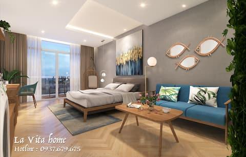 La Vita home- Luxury Studio* only 3mn to the beach