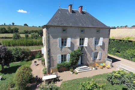Maison de caractère - Saint-Laurent-en-Brionnais - Huis