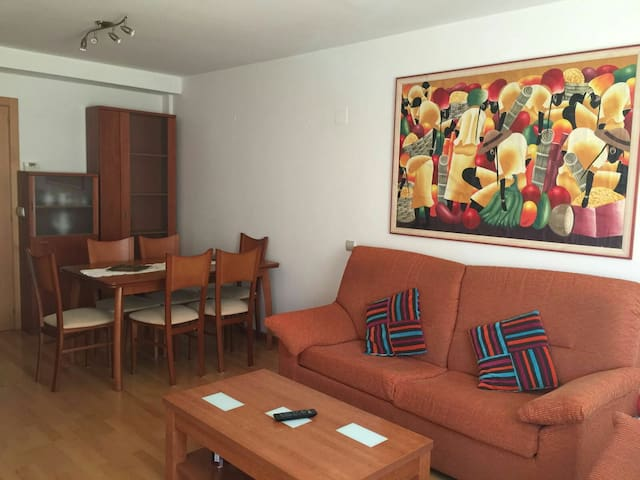 Zona prepirenaica, dos habitaciones - Sabiñánigo - Daire