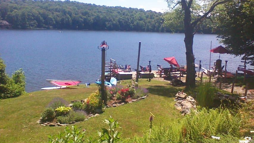 Lake view  from hammock.