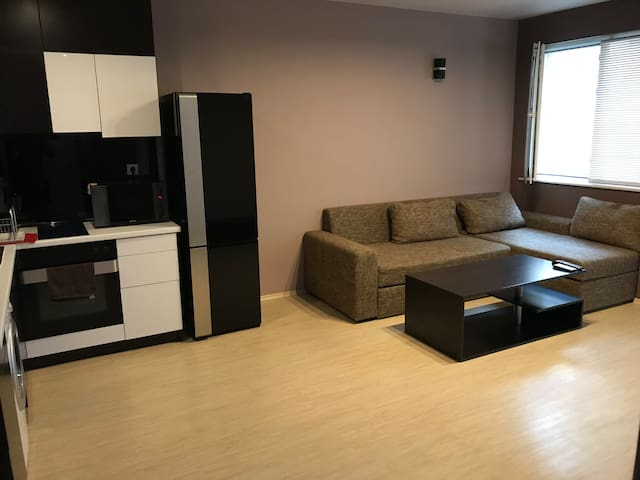 Central hill apartment
