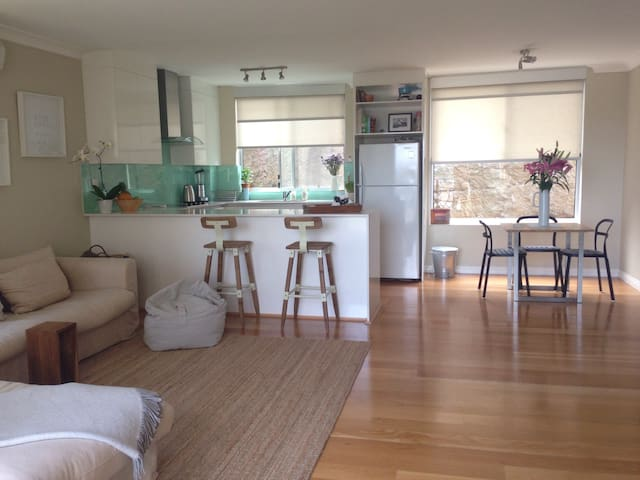 Fab 2bed apt w city/bridge views - North Bondi - Apartament