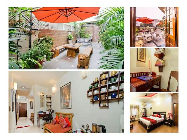Beautiful 5 Rooms + Terrace @ GK2 - New Delhi - Huis