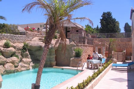 Santa Maria Tranquil Villa-Apartment one Bedroom - Willa