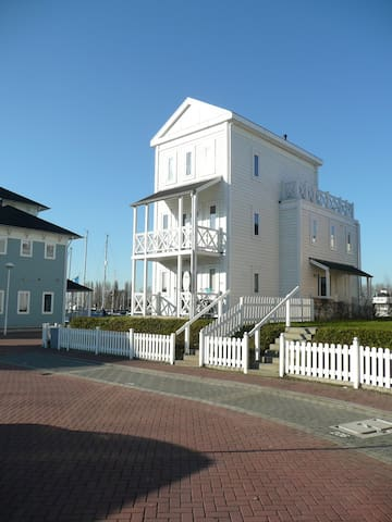 Beach house op fantastische plek - Hellevoetsluis - Casa