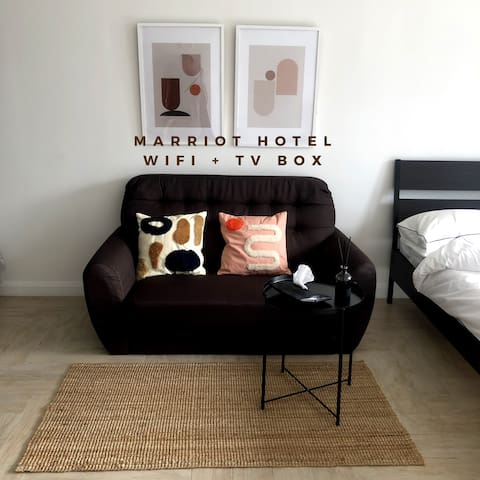 A-Studio Marriott Empire Damansara   TV Box   WIFI