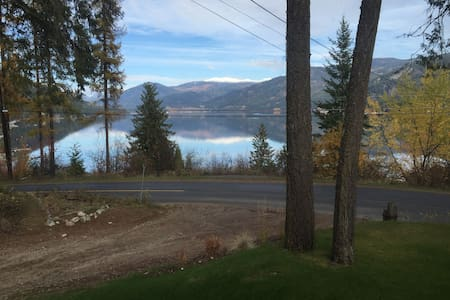 Private Cottage with Stunning Lake View - Christina Lake - Blockhütte
