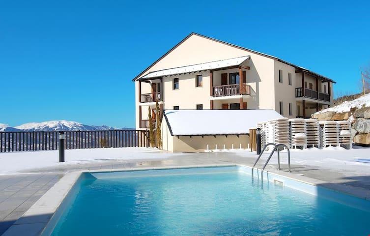Studio au calme avec accès piscine | A 500 m du centre