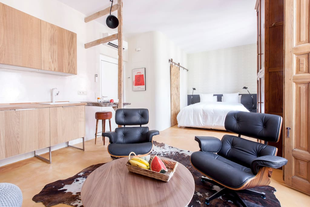 Apartamento de 1 sola estancia
