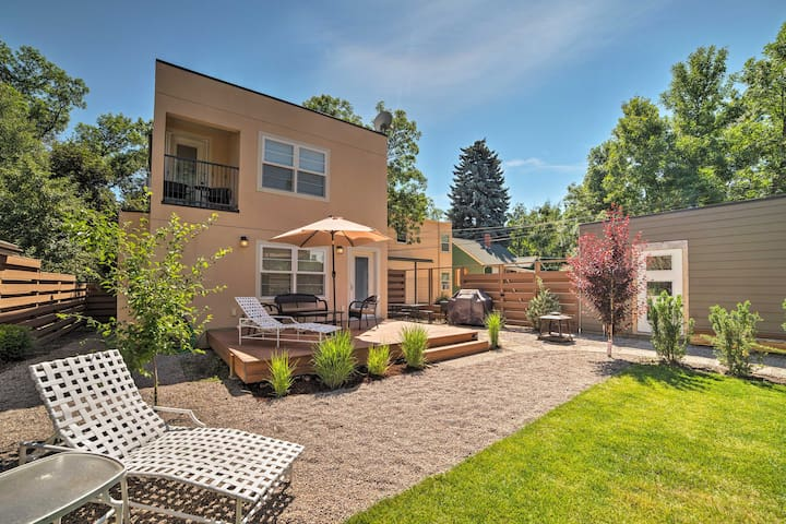 Bozeman Home w/ Landscaped Yard - Walk to Downtown