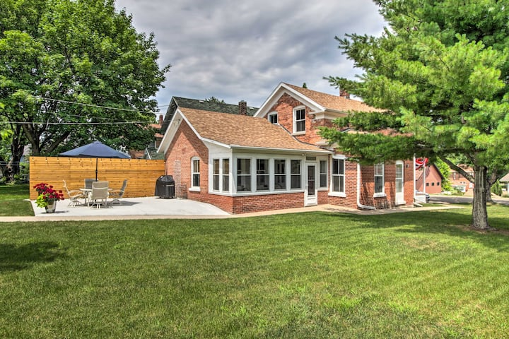 Historic Wabasha Home w/ Patio in Downtown!