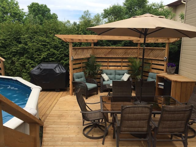 Coquette maison, 3 chambres - Trois-Rivières