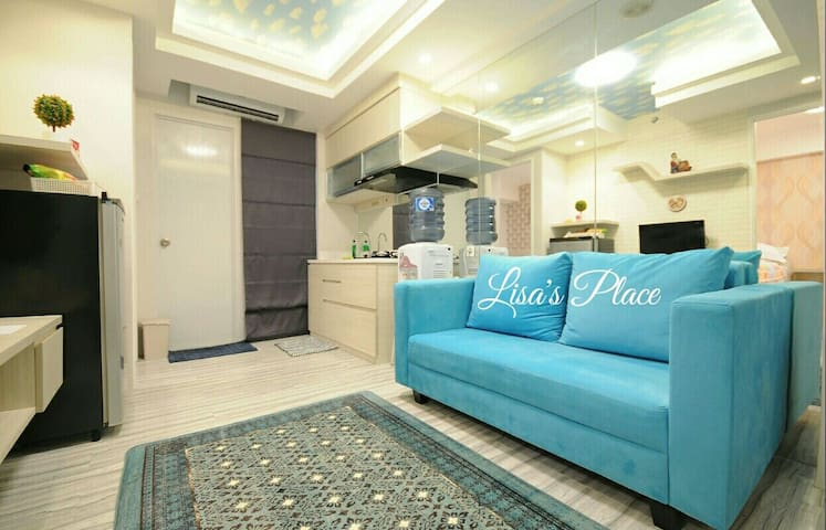 2BR / A Comfort & Cozy / In the top of mall - East of Jakarta - Byt