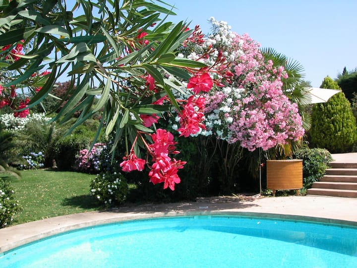 Chambre indépendante calme jardin