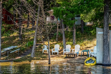 Beach House Lake Front Cottage Swimming Slps 1-11