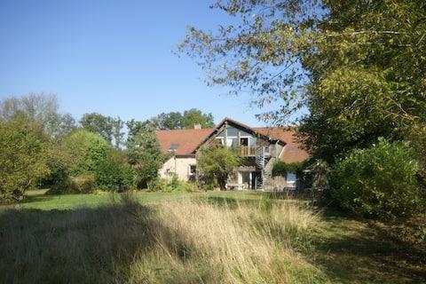 Loft privado com jacuzzi e sauna em Niderviller, na Alsácia.
