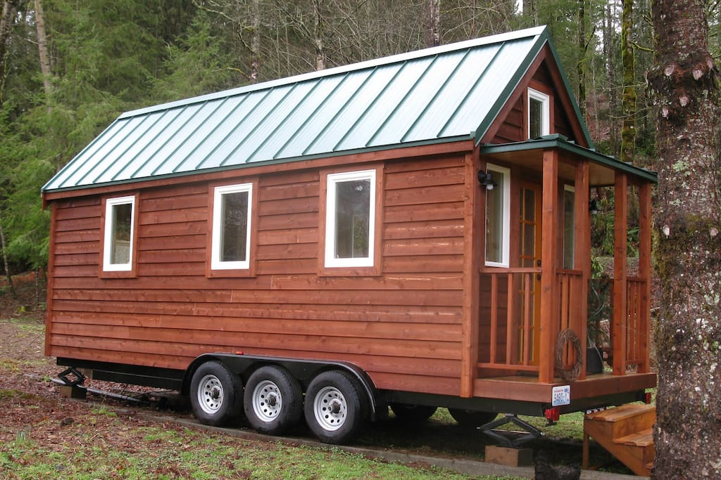 26 foot Tiny House on Wheels.