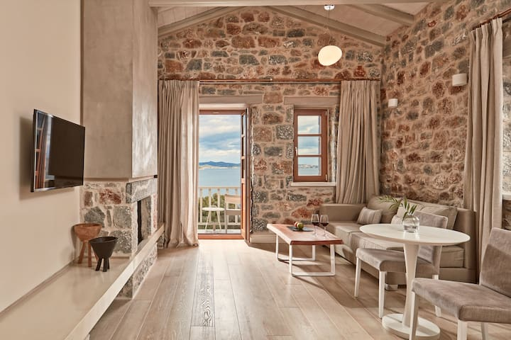 Junior Suite Sea View | Mani,Greece