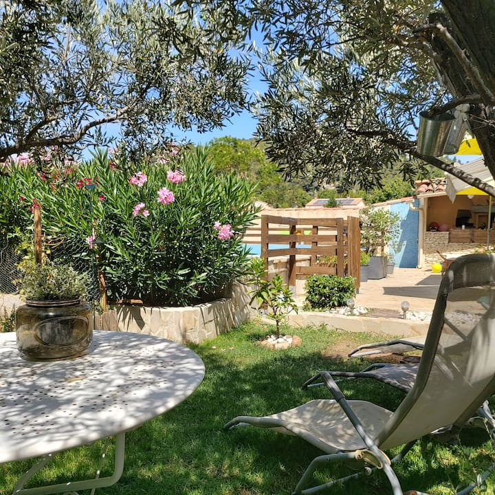 House & swimming pool between Alpilles and Luberon