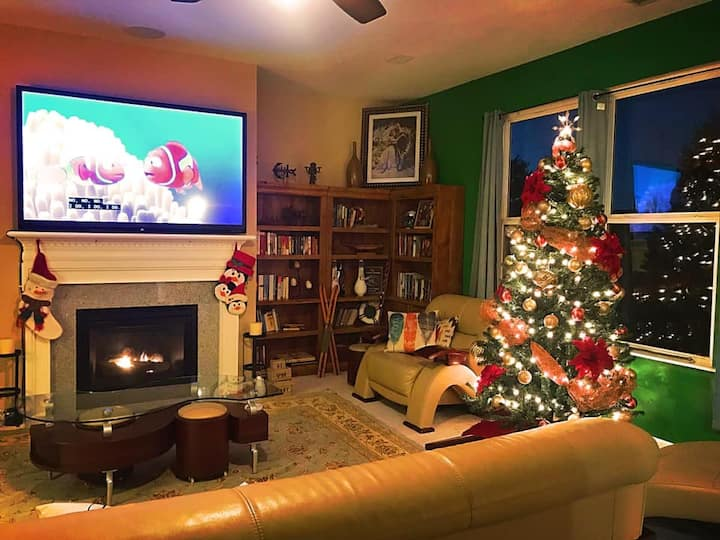 Family-friendly Fully-furnished Home