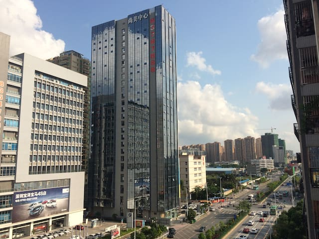33min to HongKong,100M wifi,apartment with 2 rooms - Shenzhen - Pis