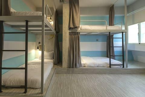 花蓮火車站北吉光6人混合房的1床/1 bed@Mixed Dorm-1C