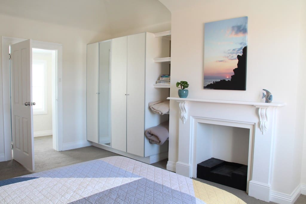 Great cupboard space in the main bedroom