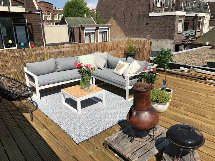 Stunning house in Haarlem, close to the beach!