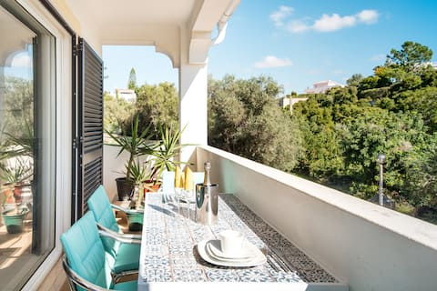 Luxury Garden Apartment near the Famous Benagil Caves
