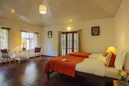 ★Lovely room in Plantation bungalow, nr Masinagudi