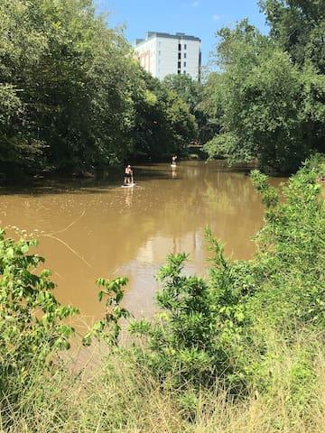 Take advantage of the oconee river