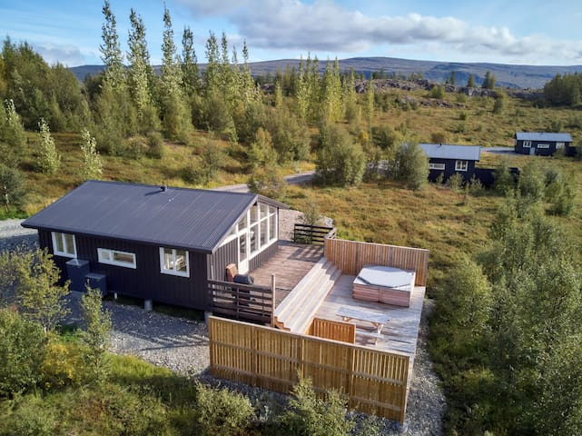 Stóravík luxurious cottage with private hot tub(4)
