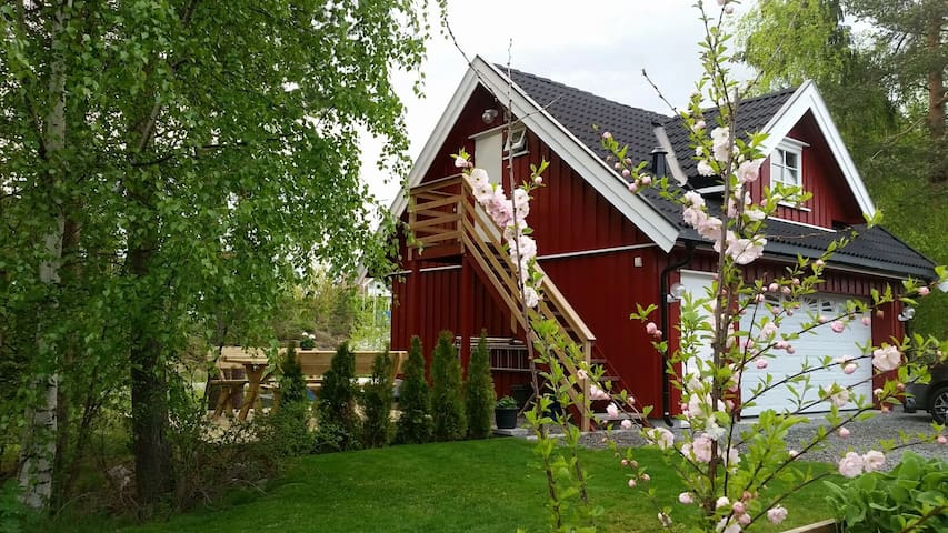 Cozy loft close to the nature - Vestfossen / Ormåsen - Loft-asunto