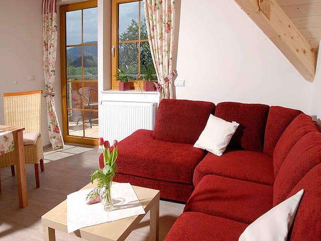 Ferienhof Bührer, (Freiamt), Ferienwohnung Rose, 43qm, 1 Schlafzimmer, max. 2 Personen