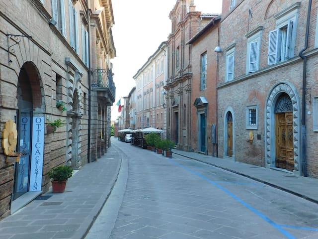 """La """"Casa del grano"""" in centro a Città della Pieve"""