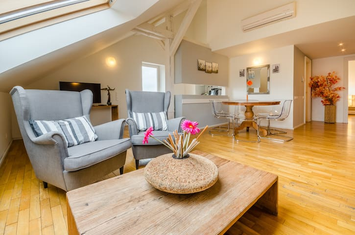 Two Bedroom Duplex Apartment Old Town sq.