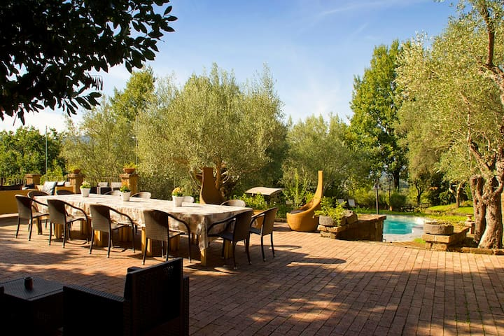 Villa panoramica immersa nel Parco di Roccamonfina